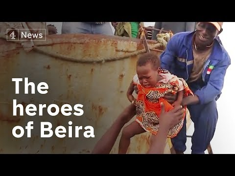 Cyclone Idai: The heroes of Mozambique