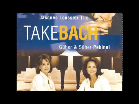 Pekinel - J. S. Bach, Concerto for 3 Pianos in D Minor (BWV 1063), arranged by Jacques Loussier mp3