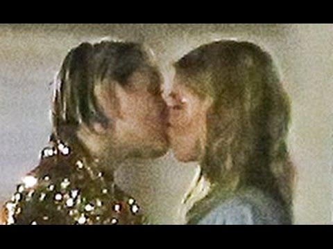 Miley Cyrus Victoria's Secret Kiss (Leaked Video)