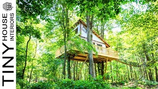 Tin Shed Treehouse | Tiny House Interiors