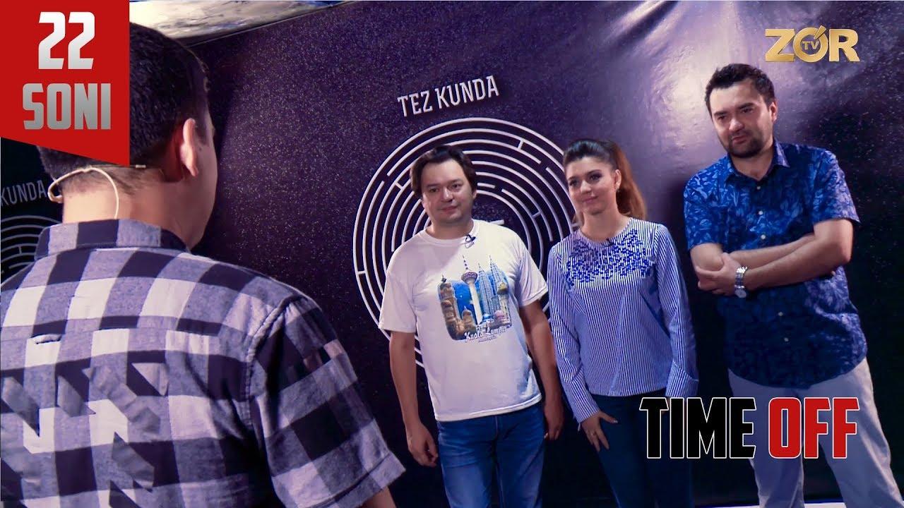 Time OFF 22-soni - VIA Karavan (19.09.2017)