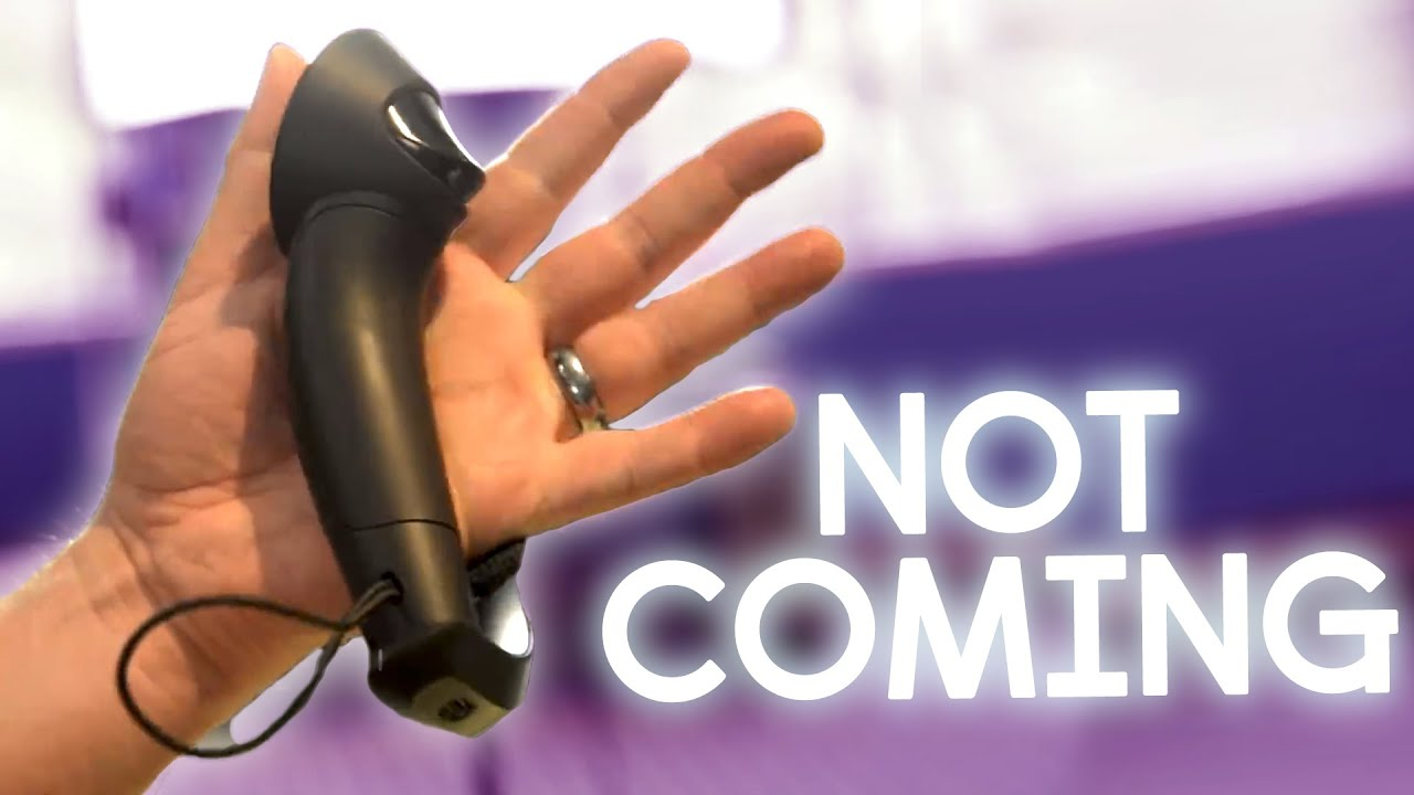 Valves Knuckles VR Controllers Aren't Coming Soon