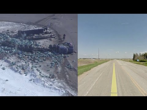 Examining the intersection of the Humboldt Broncos bus crash via Street View