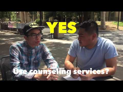 Asking students about De Anza College Counseling