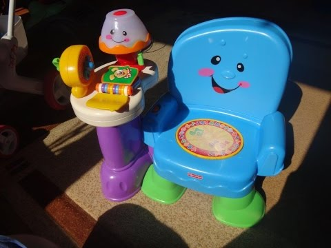 Fisher-Price: Laugh and Learn Musical Activity Chair - REAL VIDEO