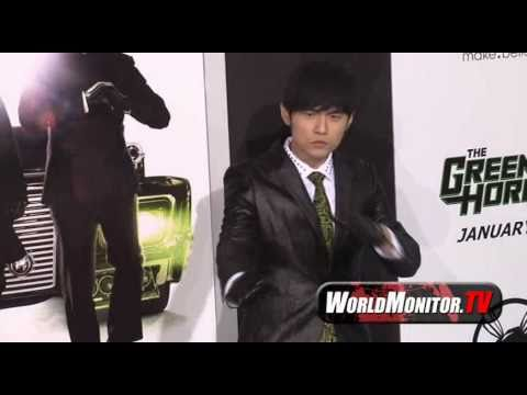 Asian star Jay Chou arrives at 'The Green Hornet' Film premiere
