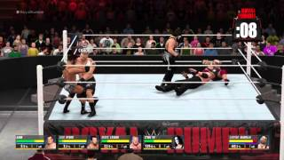 W2K16 ps4 Gameplay...
