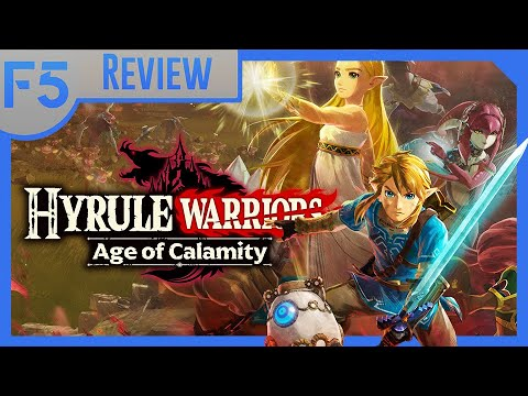 Meaty Gameplay Empty Calorie Story Hyrule Warriors Age Of Calamity Review Youtube
