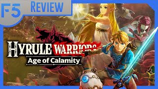 Meaty Gameplay, Empty Calorie Story | Hyrule Warriors: Age of Calamity Review (Video Game Video Review)
