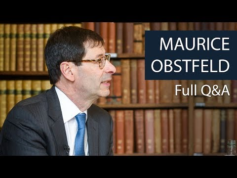 Prof Maurice Obstfeld | Full Q&A | Oxford Union