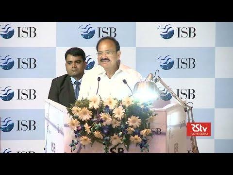 Vice President's Speech | ISB Leadership Summit, Mohali