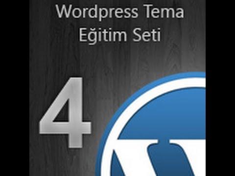 WordPress Tema Eğitim Seti -- 04- index.php [İsmail Bayram]