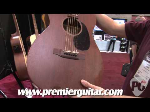 Summer NAMM '10 - Martin Guitar 00-15 & 0-18T Nick Reynolds
