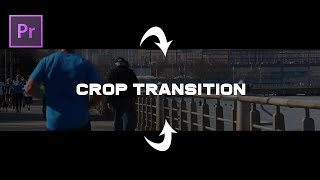 Adobe Premiere Pro CC Tutorial Crop Opening Transition Effect Black Bars Opening