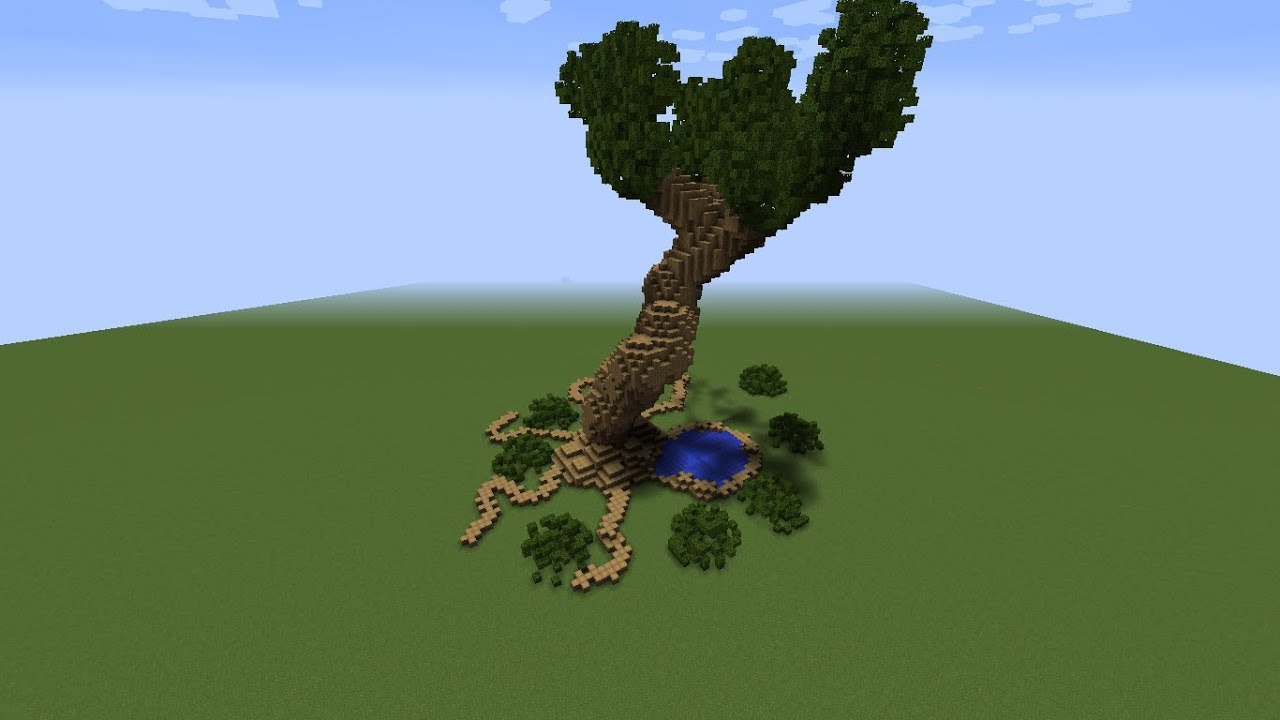 world edit how to make giant tree trunk command