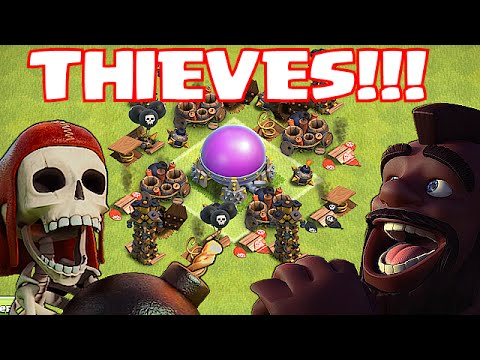 Clash Of Clans - TOP 5 w/ MASSIVE LOOT (IT's BEEN STOLEN!!!)
