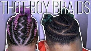 Thot Boy Braids w/ Man Bun ft. Drero