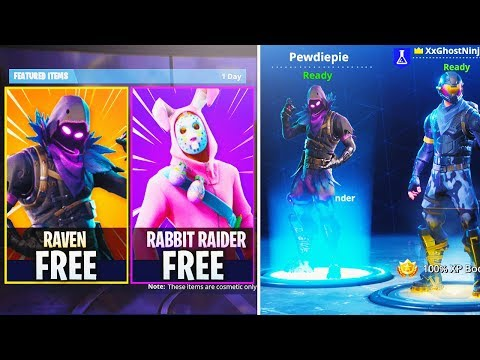 How To Get FREE NEW Raven SKIN in Fortnite!  UNLOCK ALL SECRET SKINS in Fortnite Battle Royale!