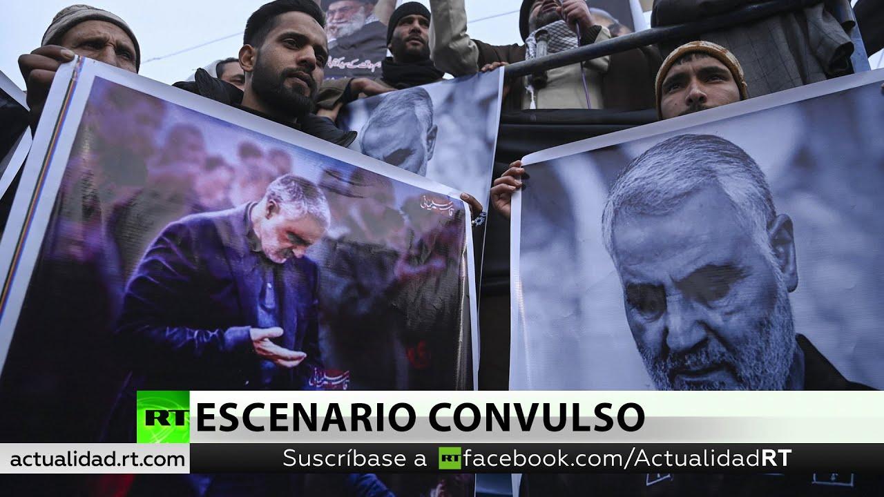 """EE.UU. mata al alto general iraní Qassem Soleimani. Irán promete """"una dura venganza"""""""