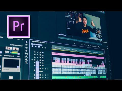 CHỈNH MÀU , HIỆU ỨNG VÀ ADD TEXT CHO VIDEO với Adobe Premiere Pro