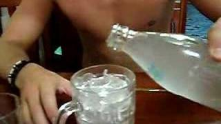 crazy water freezing to ice