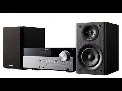 Sony's Affordable Tabletop 'Hi Fi' System