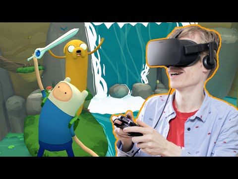 AWESOME VR PLATFORM GAME! | Adventure Time: Magic Man