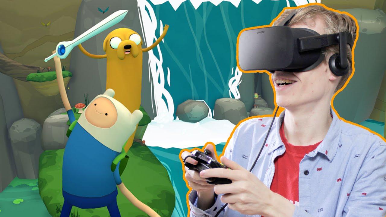AWESOME VR PLATFORM GAME! | Adventure Time: Magic Man's Head Games #1 (Oculus Rift CV1 Gameplay