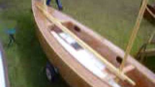 New Raid 41 Cruising Dinghy On First Public Showing Beale Park Boat Show2009