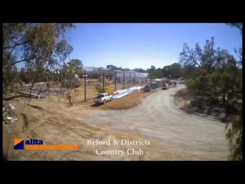 The Construction of the Byford and Districts Country Club