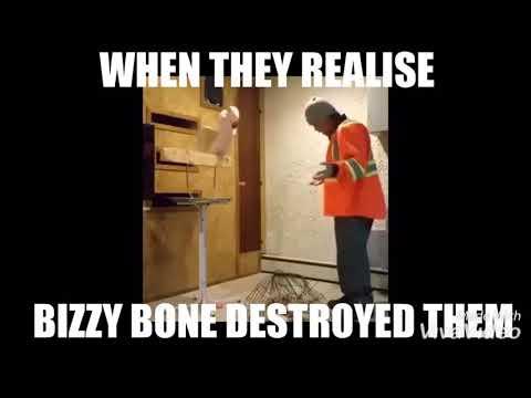 BIZZY BONE DESTROYED THE MIGOS