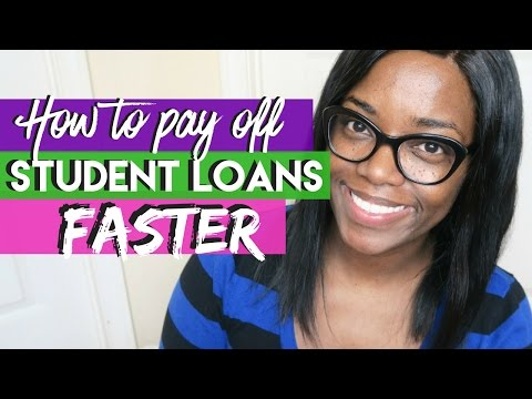 How to pay off Student Loans FASTER | Debt Free Friday