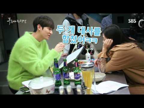 "Lee Min Ho - ""Legend of The Blue Sea"" Behind The Scene - 21.12.2016"