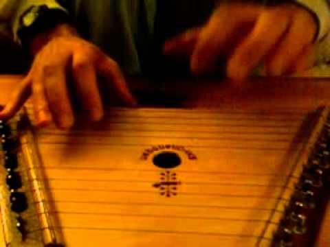 Lap Harp (gusli) C#m tuning