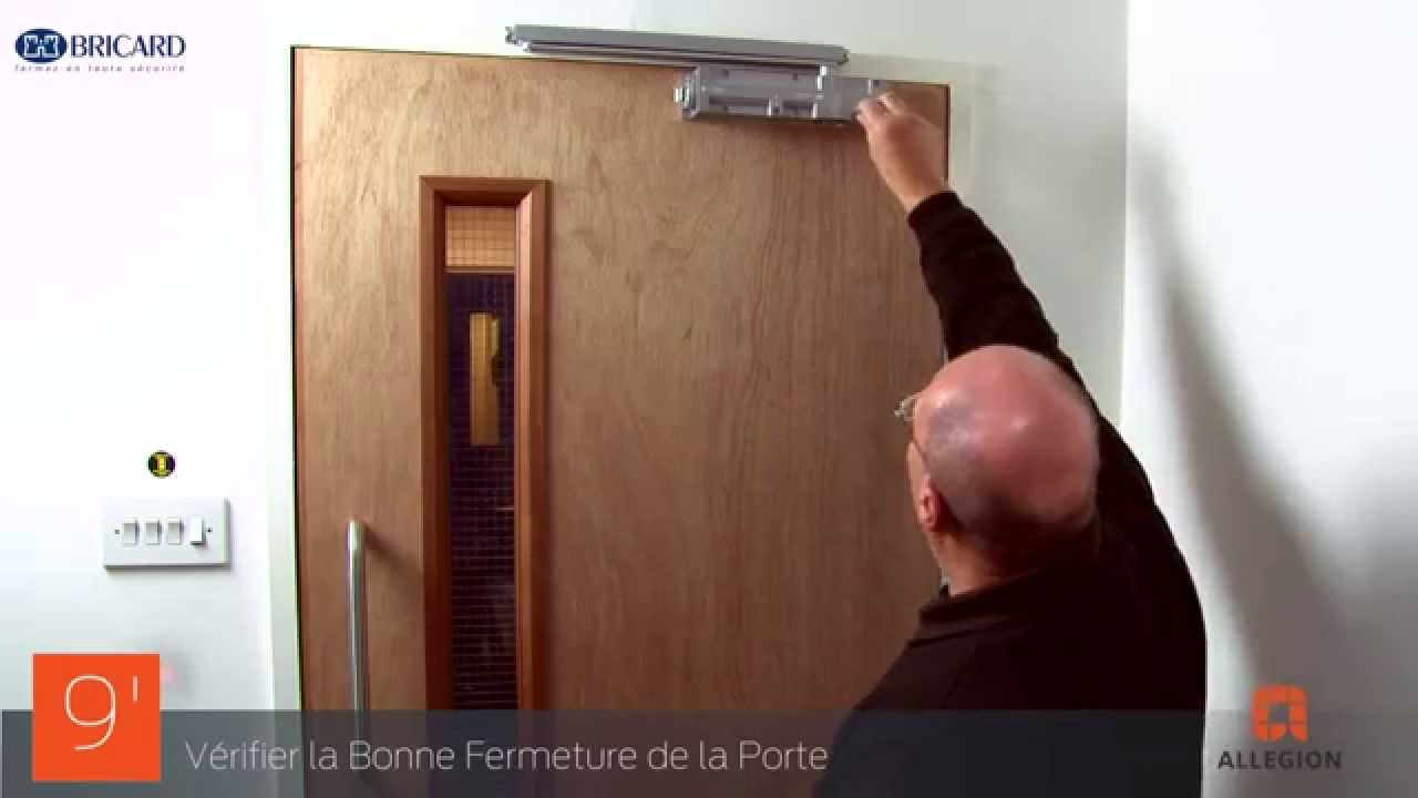 Comment installer un ferme porte bricard s rie 670 guide for Installation de porte