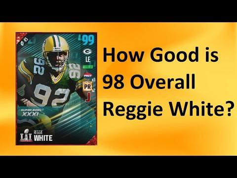 How Good is Super Bowl Reggie White? - Madden 17 Ultimate Team