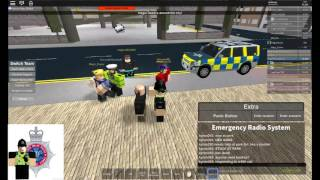 [Roblox City of Cardiff] Uk Policing south wails. Messy patrol!