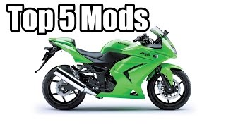 The Top 5 Mods for the Ninja 250