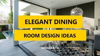 50+ Best Elegant Dining Room Design Ideas for Small Room 2017
