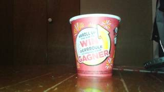 Tim Hortons roll up the rim to Win 2017 part 65