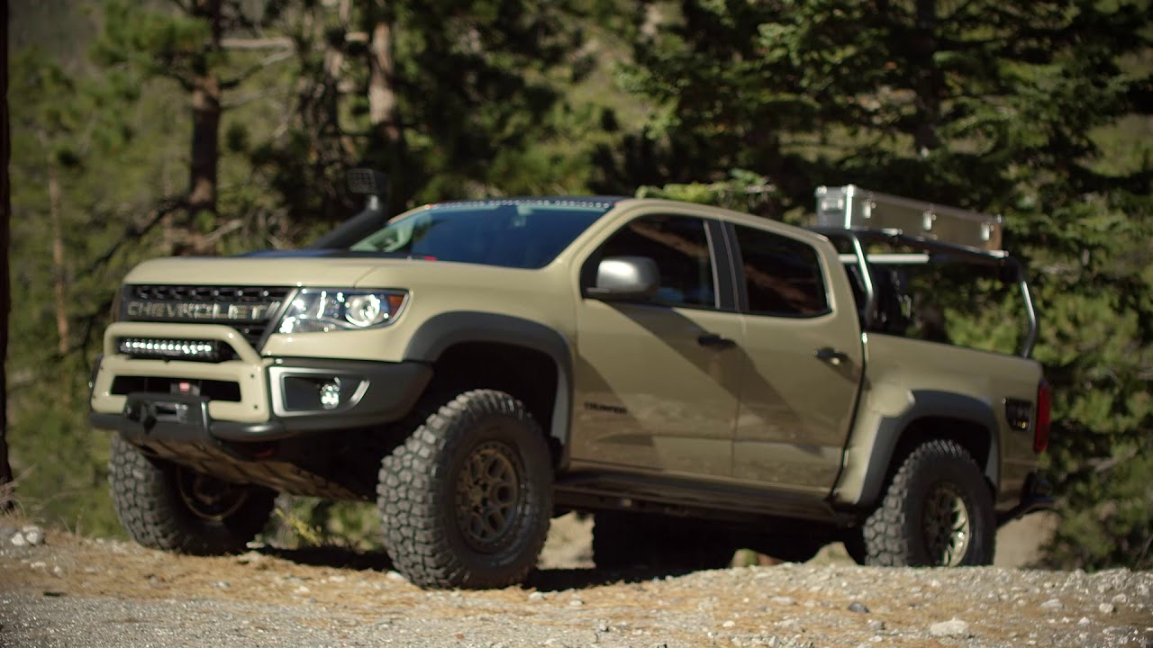 Colorado ZR2 AEV Concept Take Capability to the Next Level ...