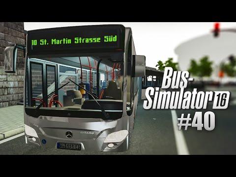 BUS SIMULATOR 16 #40: MERCEDES-Benz CITARO Gelenkbus durch die Gassen!