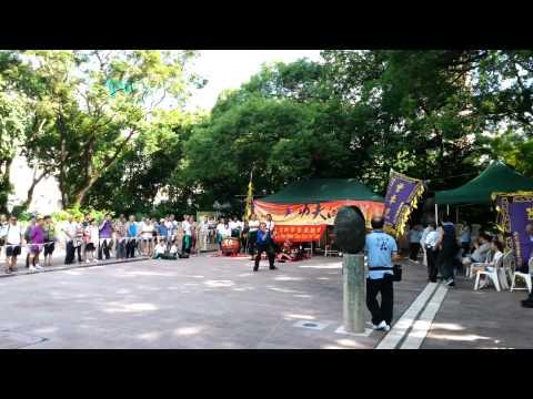 Hong Kong, Kowloon Park, Kung Fu Corner, forms