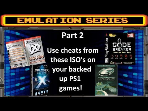 PS3 Tutorial - How To Use Cheats On PS1 Back Ups, With Phone Or Pc Using Cheat Program ISO's