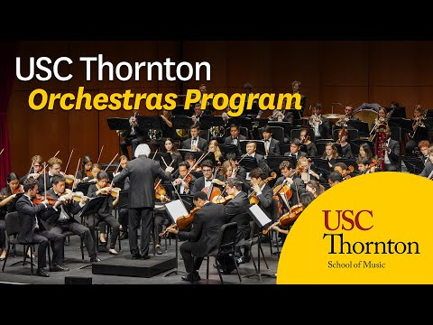 Carl St.Clair and the USC Thornton Orchestras Program