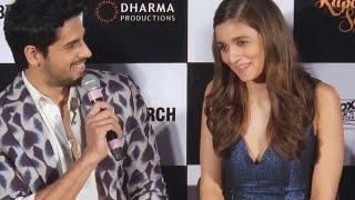 Siddharth Malhotra embarrasses Alia Bhatt in PUBLIC