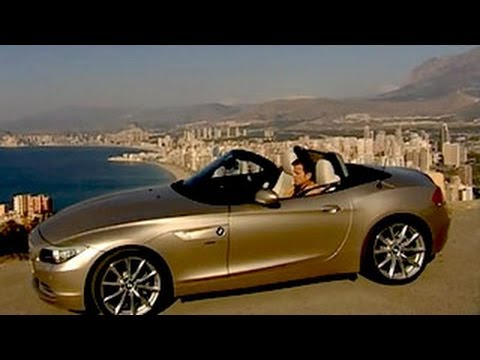 neuer bmw z4 roadster im test klappdach youtube. Black Bedroom Furniture Sets. Home Design Ideas