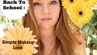 Back To School: Makeup Look! Thumbnail