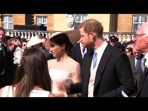 Royal Newlyweds Step Out for First Time