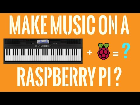 BUILD A BUDGET MIDI SYNTHESIZER - FluidSynth On Raspberry Pi Tutorial!